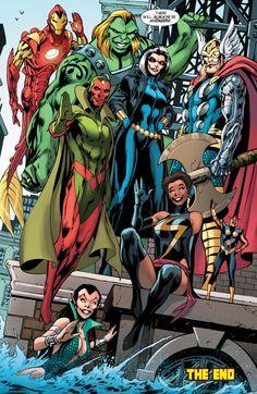 A.R.C.H.I.V.E., wondygirl: vejigante: @wondygirl Yesss I... Next Avengers, Uncanny Avengers, Avengers Art, Avengers Comics, Young Avengers, Marvel Comics Art, Marvel Comic Books, Marvel Heroes, Marvel Movies
