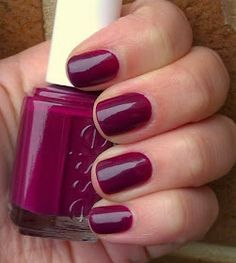 Inexpensive Fall Nail Polishes: Essie Bahama Mama