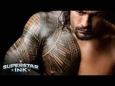 Roman Reigns explains the significance behind his tribal tattoo – Part 1: Superstar Ink - YouTube