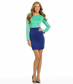 GB Colorblock CutOut Dress #Dillards