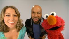 "Sesame Street: Common and Colbie Caillat - ""Belly Breathe"" with Elmo"