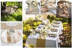 """Résultat de recherche d'images pour """"deco table mariage champetre"""""""