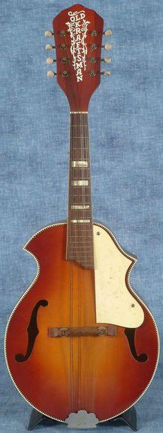 Old Kraftsman Mandolin (by Kay) --- https://www.pinterest.com/lardyfatboy/