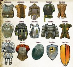 RPG Female Character Portraits — D&D Edition Armor: Planar Handbook, Sands… Fantasy Armor, Fantasy Weapons, Medieval Fantasy, Fantasy Character Design, Character Design Inspiration, Character Art, Armadura Medieval, Dungeons And Dragons Homebrew, D&d Dungeons And Dragons