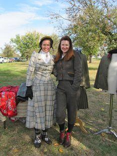 Vintage tweed, dress up designer Lorna Gillies. Tweed cycle run, Melbourne Tweed Outfit, Tweed Dress, 1940s Fashion, Vintage Fashion, Tweed Ride, Eccentric Style, Love Clothing, Harris Tweed, Adventurer