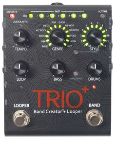 Digitech TRIO+ Band Creator and Looper Effects Pedal