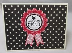 Stamp & Scrap with Frenchie: Graduation Inside Fold