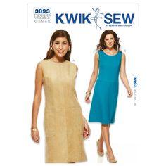 Mccall Pattern K3893 Xs-S-M-L-X-Kwik Sew Pattern