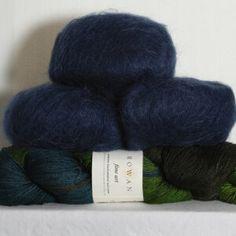 Rowan Lithosphere Shawl - Yarn & Pattern - Lapwing