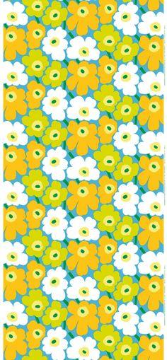 i like the retro colors on this pieni unikko marimekko print
