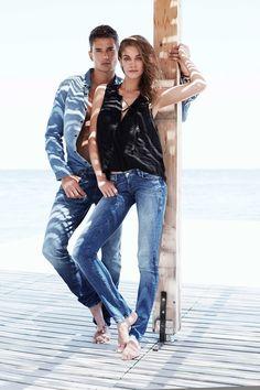 Francisco Lachowski & Danny Schwarz for Mavi Jeans SS 2015