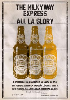 All La Glory + The Milkyway Express