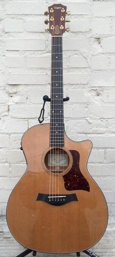 Taylor USA 514CE Grand Auditorium Acoustic Electric Guitar with Original Case 2001 500 Series | Reverb