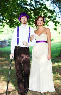 Casamento temático - A Fantástica Fábrica de Chocolate