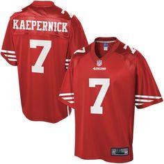55173b57e Cowboys Jason Witten jersey NFL Pro Line Men s San Francisco 49ers Colin  Kaepernick Big  amp