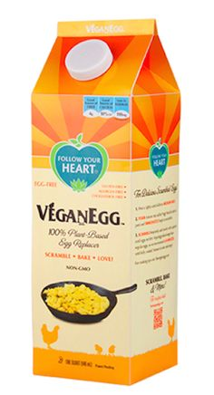 @followyrheart liquid vegan egg is about to make its debut!! No mixing, just pour it in and scramble or dunk some bread for french toast! NICE! #MyVeganJournal
