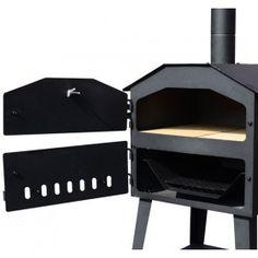 Horno de Pizza Acero al Aire Libre de Leña con 2 Piedras Refractarias para Pizza Diy And Crafts, Construction, Grill, Rockets, Wood Burning, Oven, Home Decor, Portable Wood Stove, Homemade Smoker