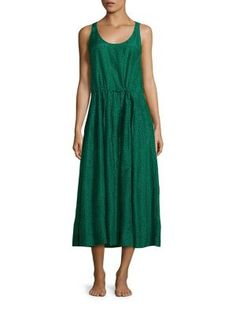 DIANE VON FURSTENBERG Sleeveless Drawstring Dress. #dianevonfurstenberg #cloth #dress