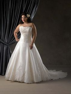 alfred angelo plus size wedding dresses - Google Search