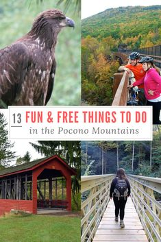 13 Fun & Free Things to do in the Pocono Mountains of Pennsylvania. #PoconMtns