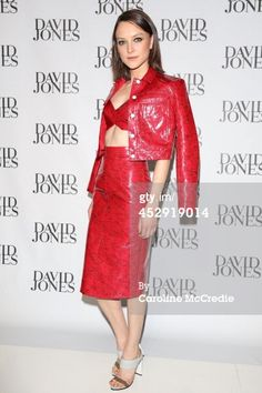 Ollie Henderson arrives at the David Jones...