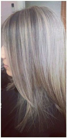 Blending gray hair with lowlights grey hair ideas pinterest highlights lowlights transition this is exactly what i want save for hairdresser grey hair pmusecretfo Choice Image