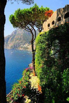 Positano, Amalfi Adası, İtalya