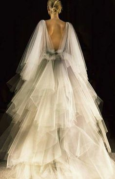 Marchesa tulle dress