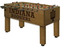 Use this Exclusive coupon code: PINFIVE to receive an additional 5% off the Indiana University Hoosiers Foosball Table at sportsfansplus.com