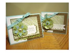Every Day Enchanted cards.   Love the colors for spring.