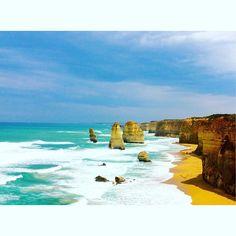 #12apostles #greatoceanroad #australia by puixbelle http://ift.tt/1ijk11S