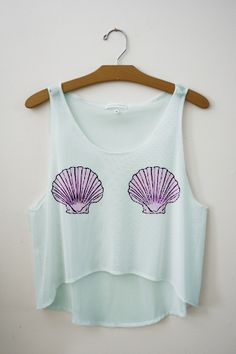 mermaid top, super cute i love this! It would be a perfect beach top Mermaid Shirt, Mermaid Top, Mermaid Leggings, Mode Style, Swagg, Spring Summer Fashion, Passion For Fashion, What To Wear, Grunge