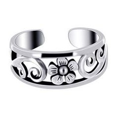 Flower Toe Ring/ I want this