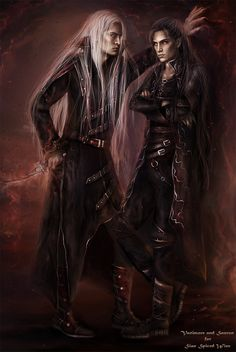 Vanimore and Sauron by Kaprriss.deviantart.com on @DeviantArt
