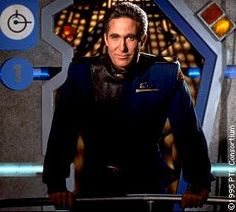 Michael O'Hare...Commander Sinclair on Babylon 5 (9-28-2012)