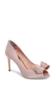 5a95b083bd20 New Ted Baker London Vylett Peep Toe Pump (Women)