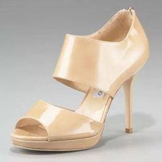 Jimmy Choo 'Private' Cuff Patent Leather Sandal