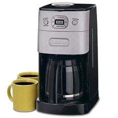 Grind & Brew™ 12-Cup Automatic Coffeemaker DGB-625BC  | Cuisinart