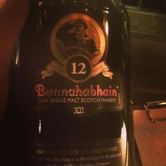 A #whisky to top the night. #peaty but still #smooth and fruity. A #Bunnahabhian 12yo @assemblybarsyd. #cheers #winechatty #winechattySammy