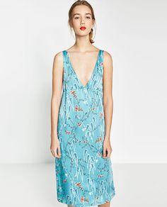 Image 4 of JAPANESE PRINT DRESS from Zara