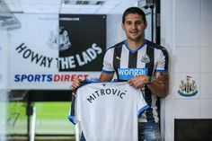 NEW ADDITION: @NUFC signing Aleksandar Mitrovic (NEW) FWD is available to buy for £6.5 in your #FPL team...