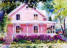 Nicole Gélinas ~ The Pink House