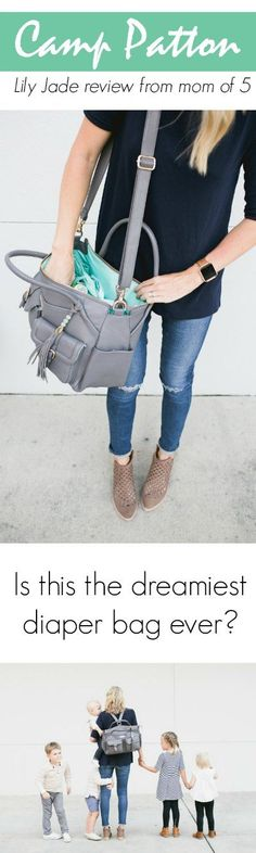 """I've written more posts about my beloved Lily Jade diaper bags than any other brand because I'm that much of a super fan of the bags, the company, and their mission. I've had the pleasure of meeting the owners in person and they are some of the kindest, most salt-of-the-earth folks I've ever met .One of the most frequent emails I get is to ask, """"which Lily Jade should I get?!"""" ..."""