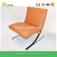 Replica Designer Furniture Polished Stainless Steel Frame Meinhard von Gerkan Berlin Chair