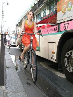 Copenhagen Cycle Chic Goes To Paris | Flickr - Photo Sharing!