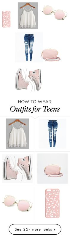 """""""Teens summer"""" by isagarcia03 on Polyvore featuring Madewell and Miss Selfridge"""