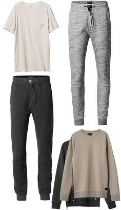 Peças de roupas inspiradas no estilo do jogador de futebol David Beckham.