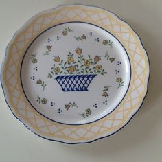 Frokost-desserttallerken - Diameter 22 cm – Sango Country French servise