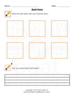 Music Worksheet Categories Note & Rest Values