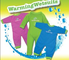 Brand new Turtle Tots Warming Wetsuits - lovely plush material #babyswimclass